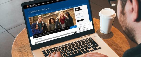 Postgraduate Study website